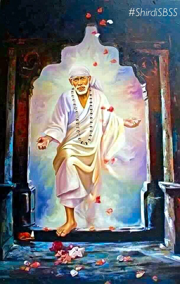 """If you pray to Me before My picture then I manifests Myself through that picture. The place where the picture is kept becomes a shrine."" - Shirdi Sai Baba Om Shri Sachidananda Sadguru Sainath Maharaj ki Jai! ❤️ Jai Satguru Sainath ❤️ ""Bow to Shri Sai & Peace Be to all"" ‪#‎sairam‬ ‪#‎shirdi‬ ‪#‎saibaba‬ ‪#‎saideva‬ ‪#‎shirdisaibaba‬‪ #‎ShirdiSBSS‬ Please share; FB: www.fb.com/ShirdiSBSS Twitter: https://twitter.com/shirdisbss Blog: http://ssbshraddhasaburi.blogspot.com/"