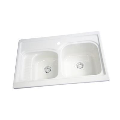 Prestige Kitchen Sink : Acri-tec - Prestige Acrylic Kitchen Sink - 19011 - Home Depot Canada