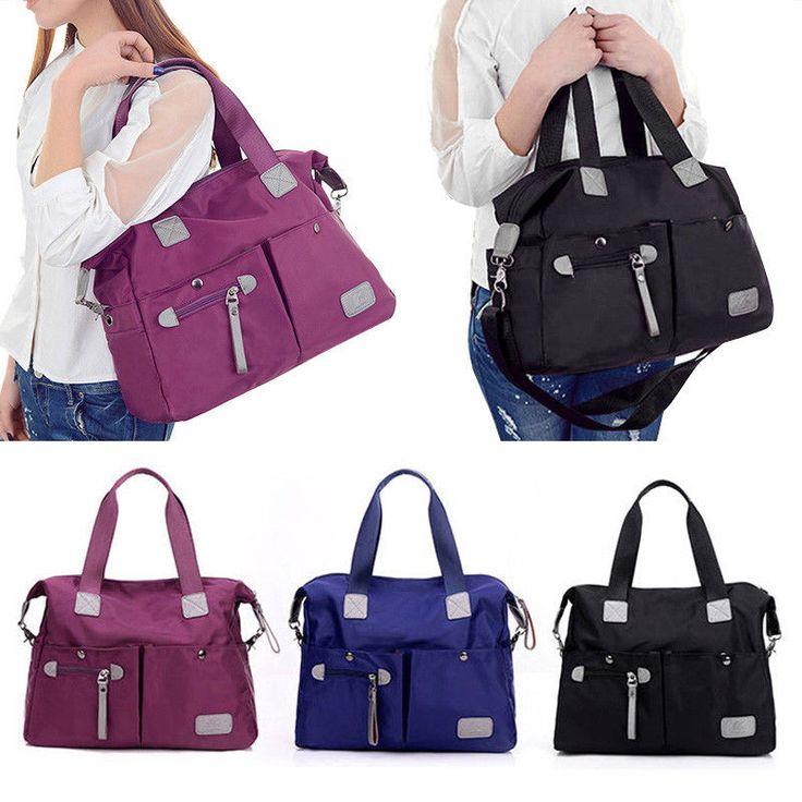 Chic Women Handbag Pratical Outdoor Leisure Bag Lady Wearable Large Storage Bag