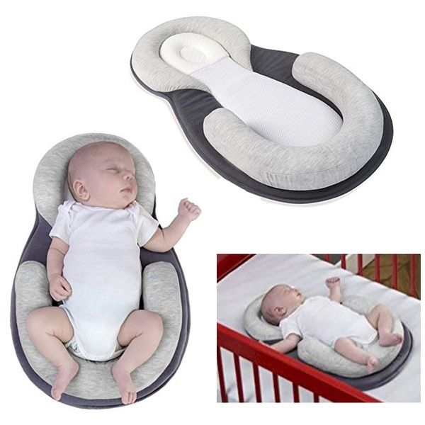 Baby Stereotypes Pillow Infant Anti Rollover Mattress Pillow For 0 12 Months Baby Sleep Positioning Portable Baby Cribs Safe Sleeping Baby Portable Baby Bed
