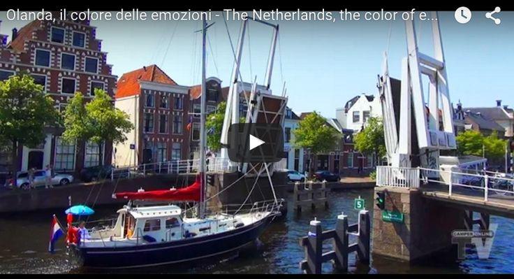 Mulini a vento, gite in bicicletta, città di arte, storia e cultura, fiori, canali, dighe e mare: www.camperonline.tv vi porta a scoprire, in camper, la splendida Olanda!