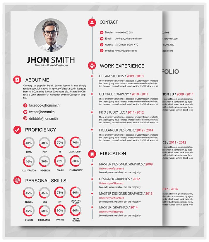 Where to buy resume portfolio