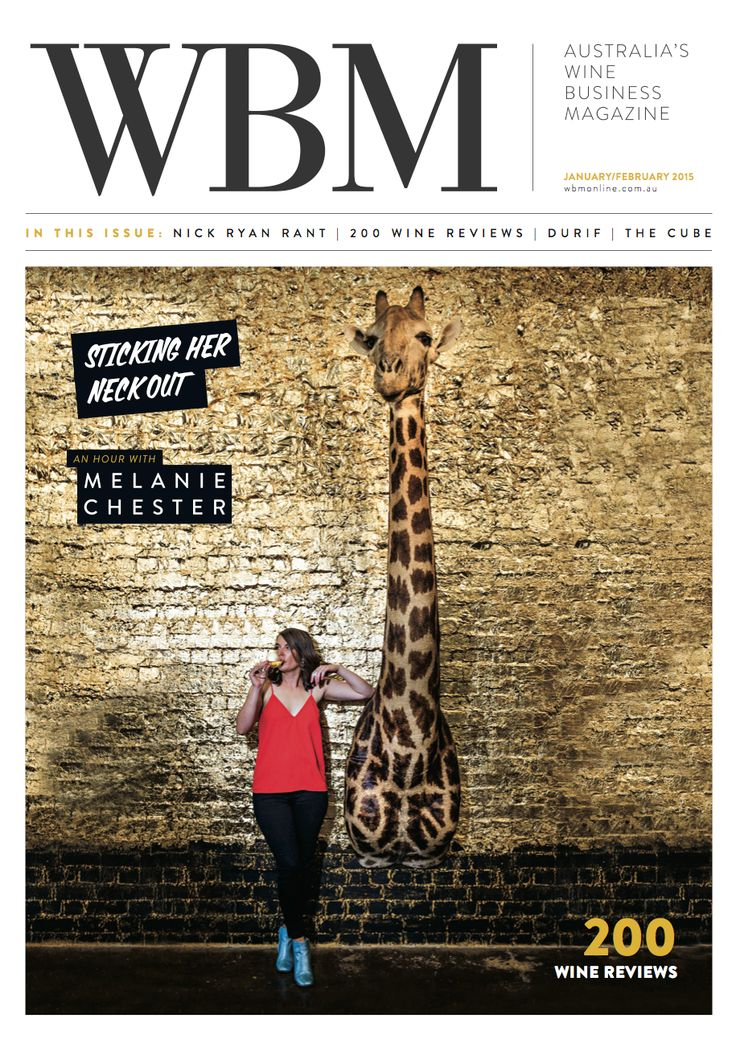 WBM January/February 2016 Magazine Cover, featuring Melanie Chester.