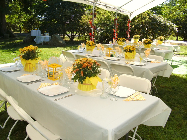 Guest tables- Joey & Brian (Sept '11)
