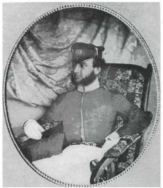 Officer, 99th Lanarkshire Regiment, Australia c1850
