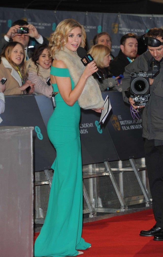 Rachel Riley at the 2015 BAFTAs