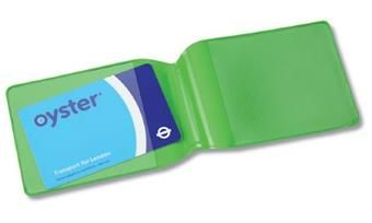 Oyster card holder - landscape