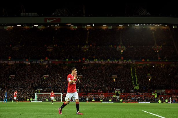 Walk of shame: Di Maria will exit Old Trafford after just one season