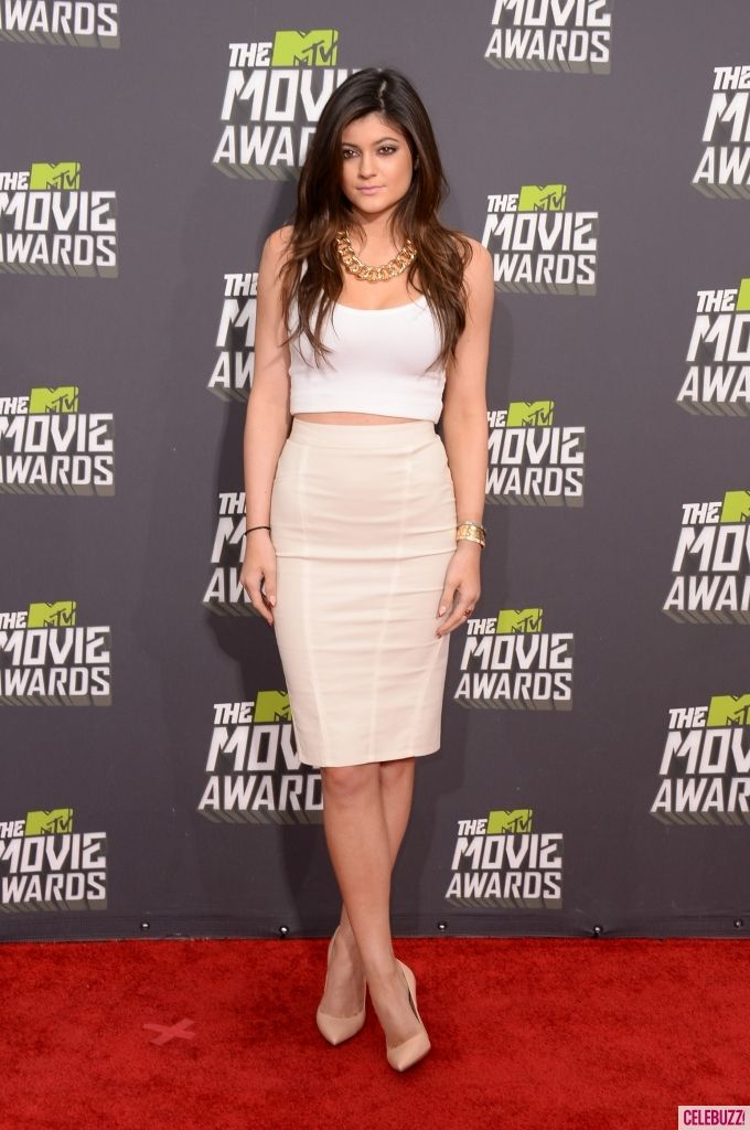 kylie jenner @ the MTV Movie Awards 2013 #BestDressed  #mtvmovieawards