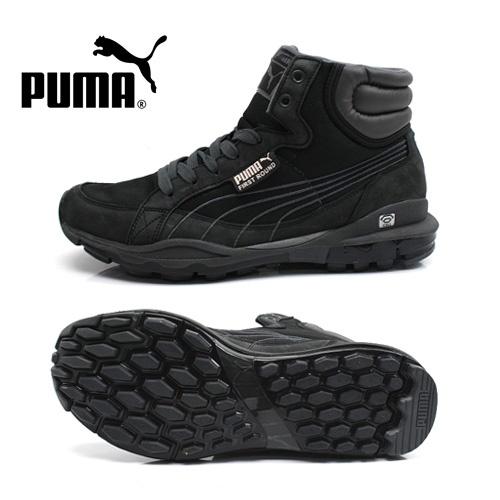 PUMAが最大60%OFF!paj350073-02 【PUMA/プーマ】スニーカー ファースト ラウンド IDC/ブラック/ダークシャドー【楽天市場】