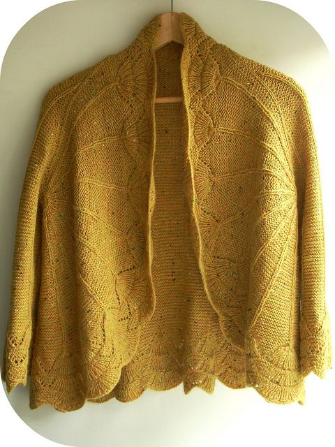 pretty sweater!!! Viften/The Fan, a design by Marianne Isager, knitted by…