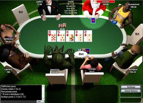free poker multiplayer online games