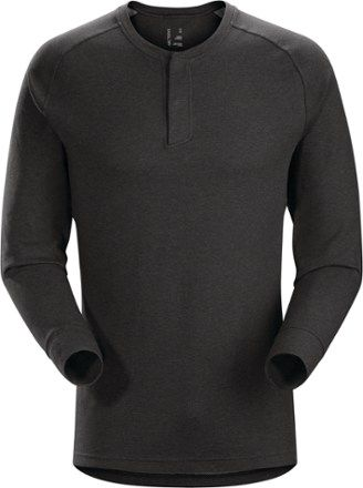 Arc'teryx Men's Sirrus Henley Shirt Black Heather XXL
