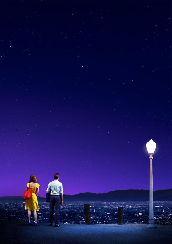 La LA Land Movie Poster 18 x 28 by olyaprint on Etsy