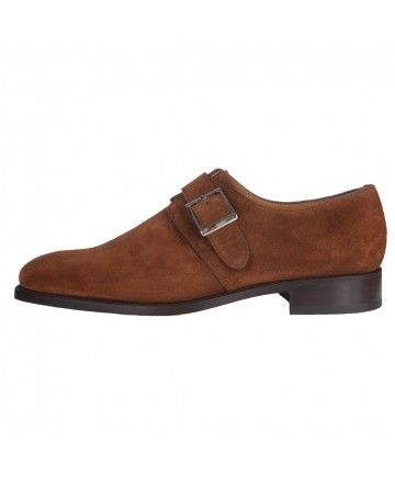 O'QUIREY LONDON    - Suede Chestnut