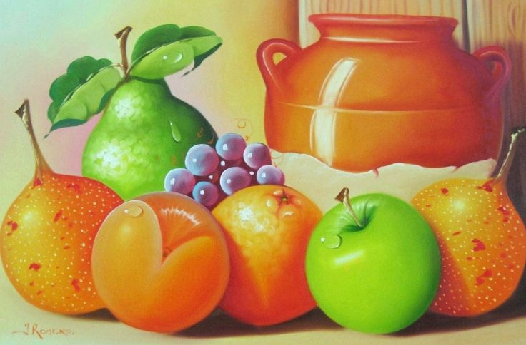 Cuadros modernos abstractos para comedor de frutas for Cuadros de pinturas para comedor
