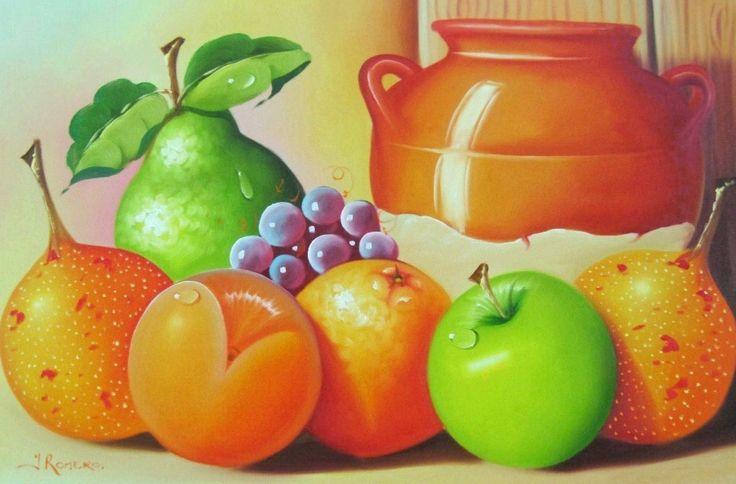 Cuadros modernos abstractos para comedor de frutas - Cuadros de comedor ...