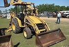 JOHN DEERE 110 BACKHOE LOADER TRACTOR 4X4 JD 110 COMPACT HOE