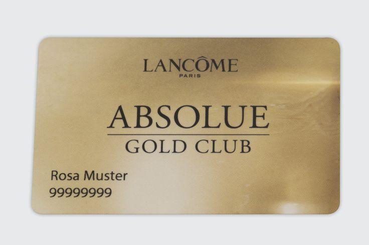Member Card for Luxury Brand