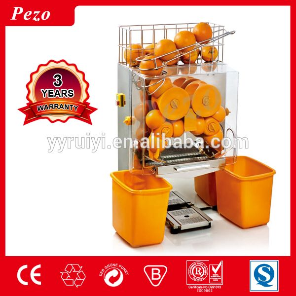 CE Electric Automatic orange juice/Lemon Juicer making machine /fruit juice machine