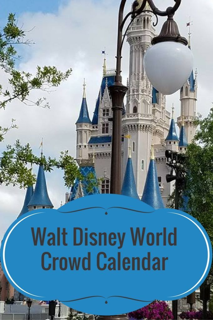 Walt Disney World Crowd Calendar. Know when to go and when to stay away!