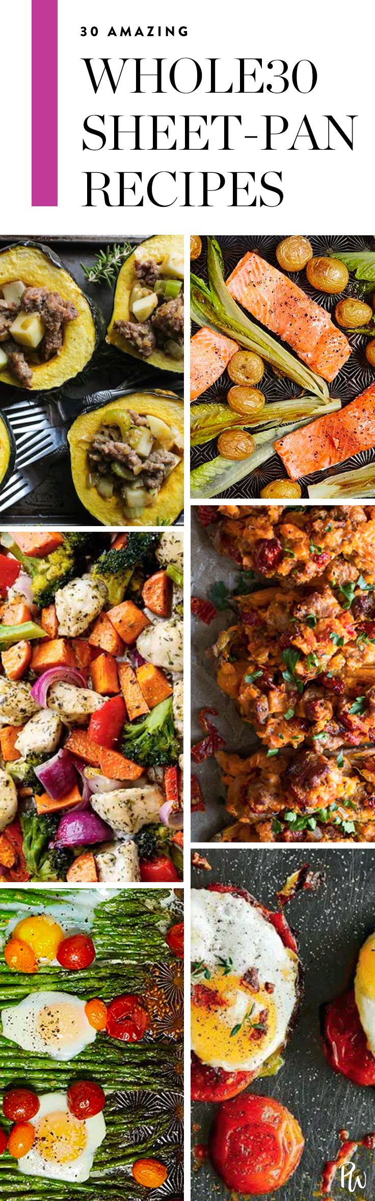 30 Whole30 Sheet-Pan Recipes to Add to Your Arsenal via @PureWow via @PureWow