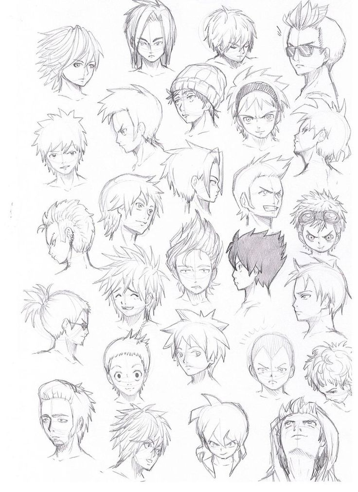 various hairstyles male by Komodo92Tenbinza on DeviantArt - Best 20+ Anime Hairstyles Male Ideas On Pinterest Drawing Hair