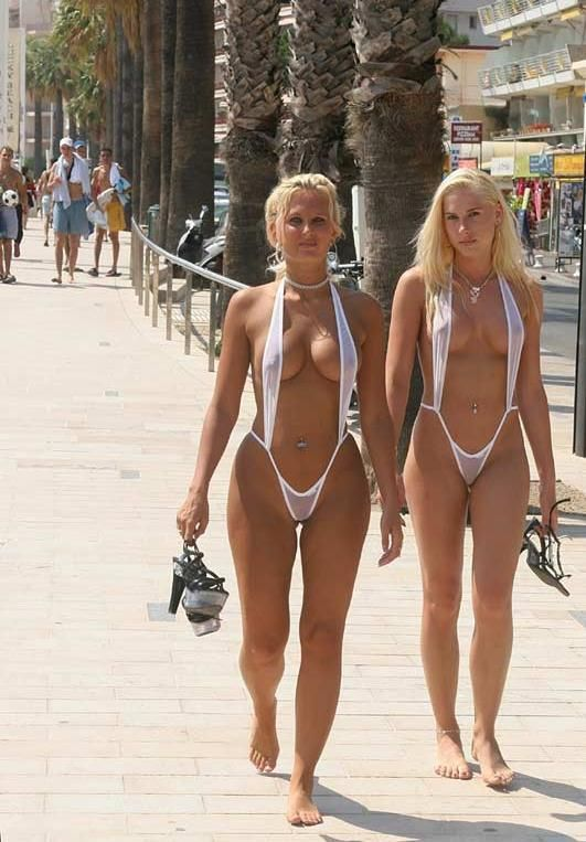 Ladies At Nude Beach