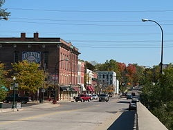 Historic Depot Town in Ypsilanti, Washtenaw Co, MI. My 2nd great-grandfather, Daniel Rook Vaughan was born here in 1847.