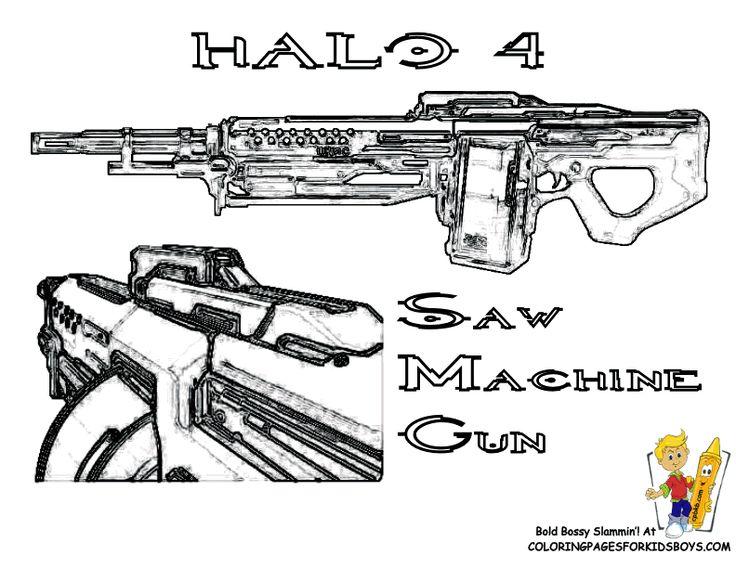 Halo 4 Dibujos Para Colorear