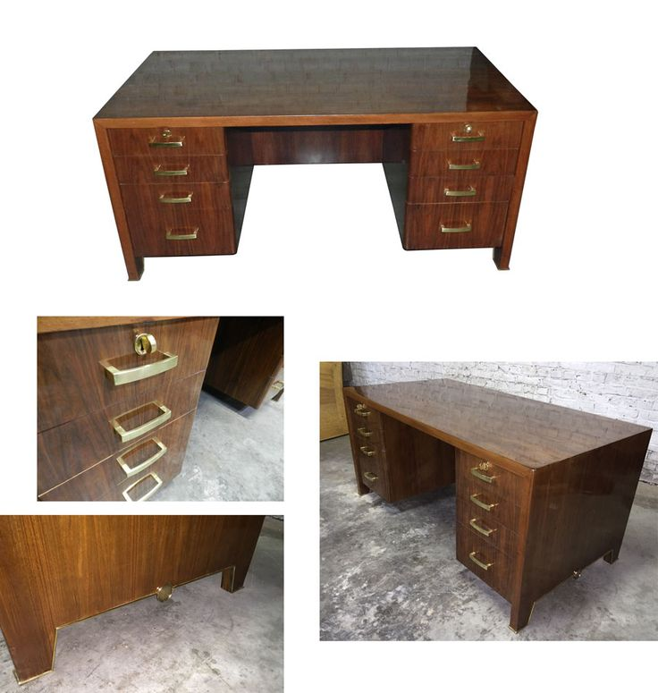 Oak Art Deco Bureau With Key Easy Live Auction