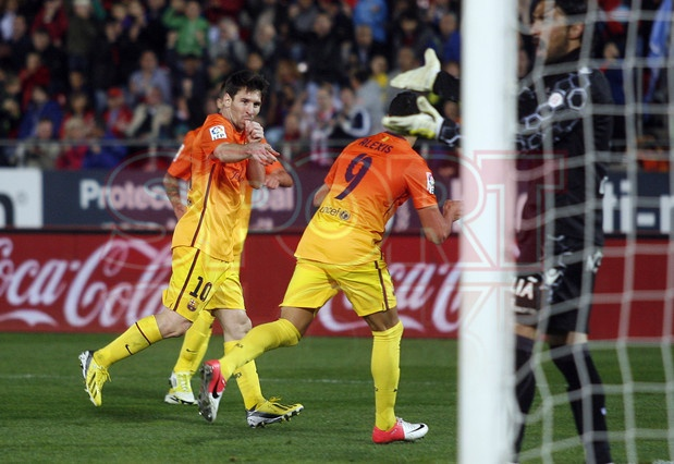 Lionel Andrés Messi, FC Barcelona | Mallorca 2-4 Barça. 11.11.12