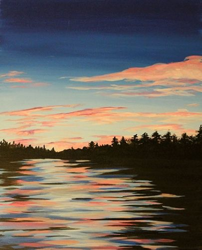 Paint Nite Boston | Slate Bar and Grill (Financial District) 10/03/2015