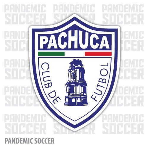 Pachuca Tuzos Futbol Mexico Vinyl Sticker Decal Calcomania