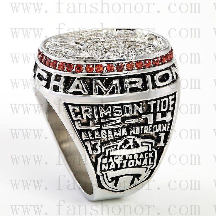 alabama2012ncaa #rolltide #alabama #sec #lsu #fsu #cfb #vfl #ugafootball #gbo #cfpbound #govols #vols Custom NCAA 2012 Alabama Crimson Tide National Championship Ring