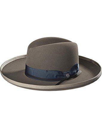 cdf94e5f00c Stetson Men s Grey West Bound B Felt Hat – Tfwsbdb233603 Review ...