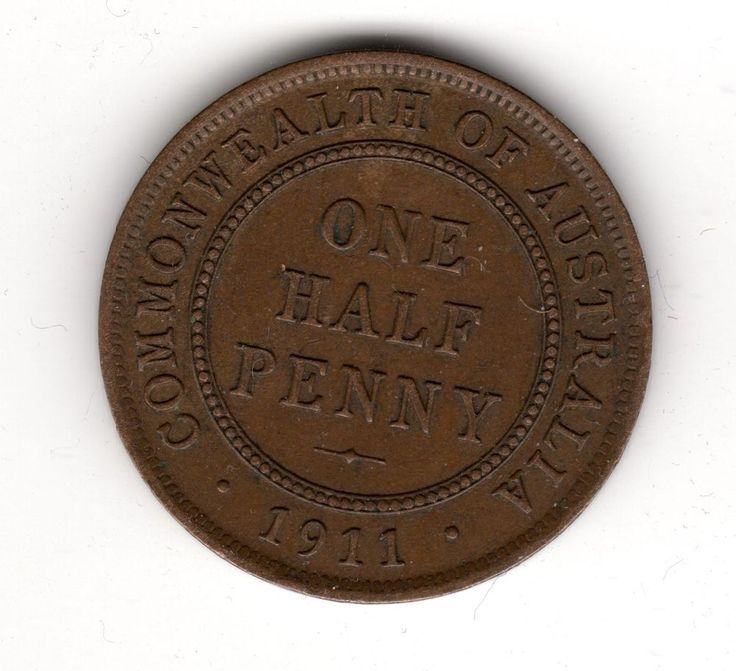 1911 Australia Half Penny Higher Collectable Grade Coin! 19.50