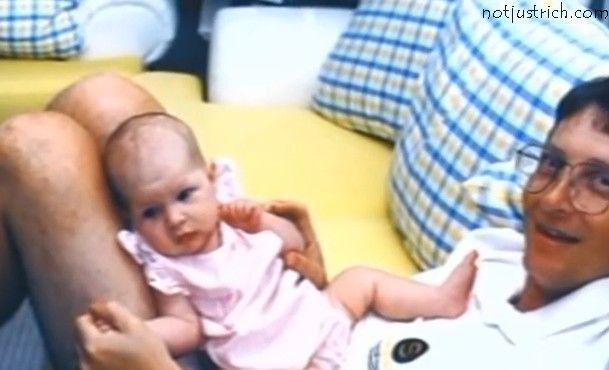 bill gates daughter Jennifer childhood pictures ...