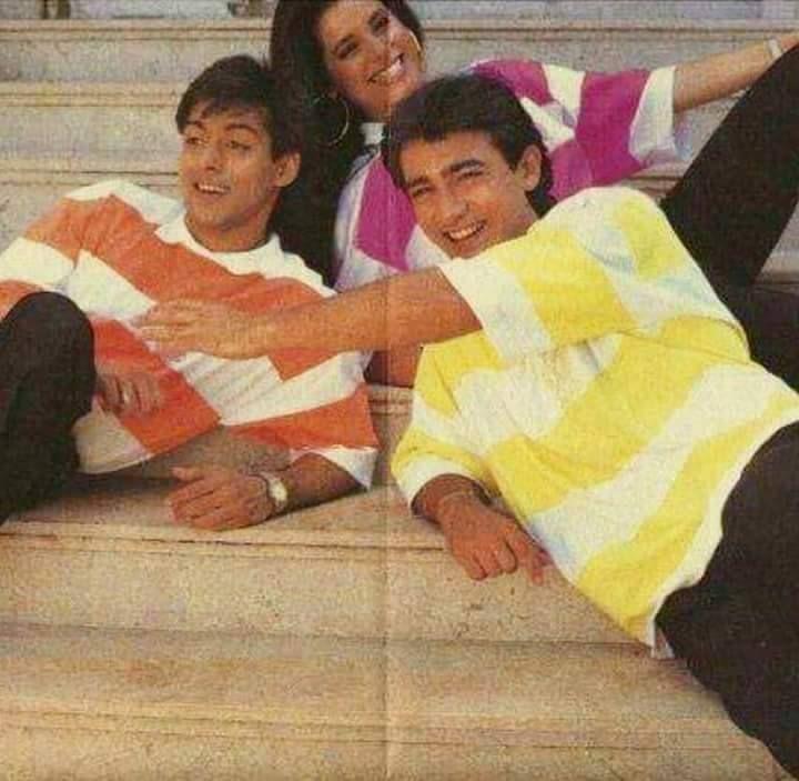 Salman Khan, Neelam Kothari & Aamir Khan | BOLLYWOOD ...