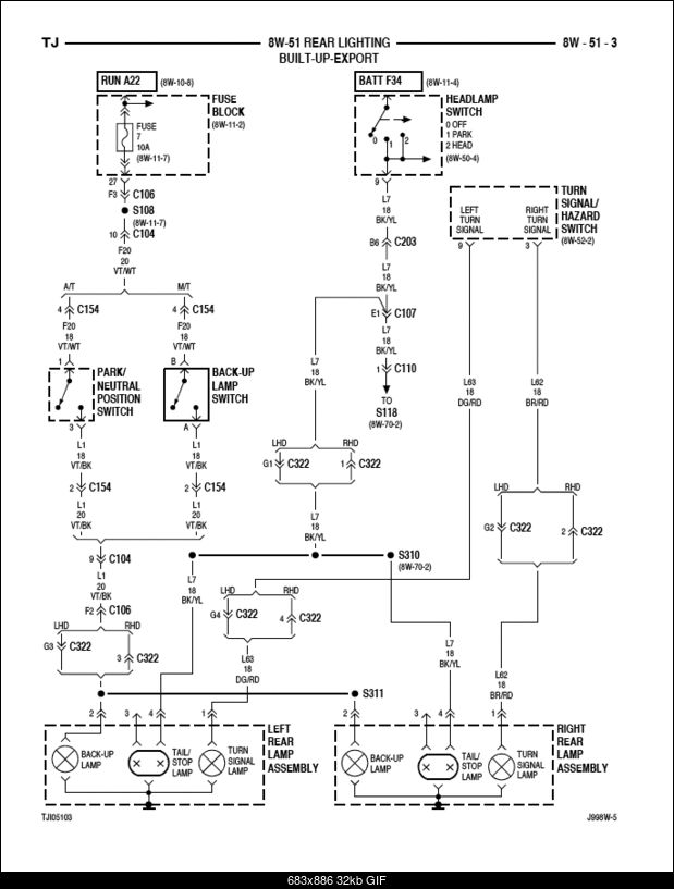 1997 jeep tj brake switch wiring  1994 mazda mpv fuse box