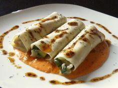 Recetas Saludables, Diabeticos, Receta de Canelones de Calabacín y Tofu, con receta