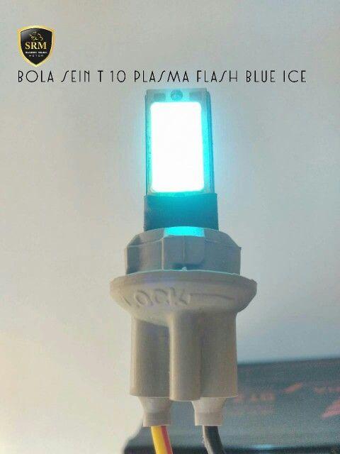 Bola Sein T 10 Plasma Flash Blue Ice IDR 85.000,-/Set