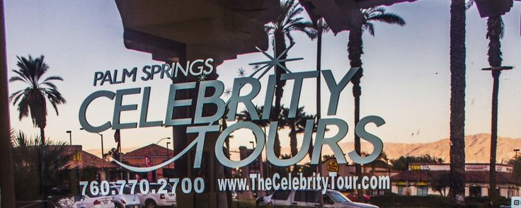 10 best winter vacation images on pinterest palm springs for Celebrity tours palm springs california