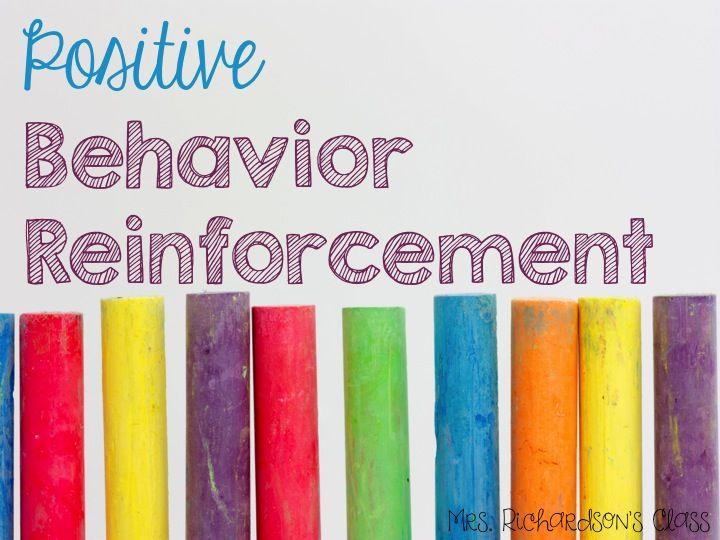 Classroom Reinforcement Ideas : Bright idea for positive behavior reinforcement simple