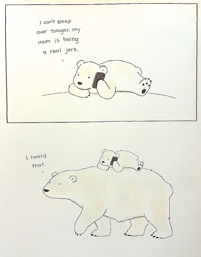 Liz Climo is back, and she has a whole book of hilarious animal comics! From killer whales to porcupines, dinosaurs to polar bears, Climo attributes a delightful simple sense of humour to all her animal