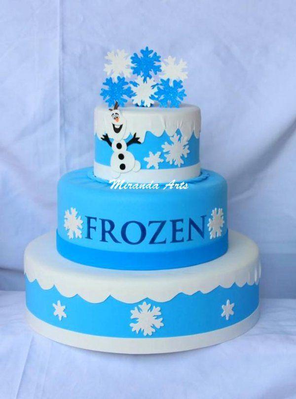 Bolo cenográfico em EVA Frozen #amigoindicaamigodivitae #divitae #lojavirtual