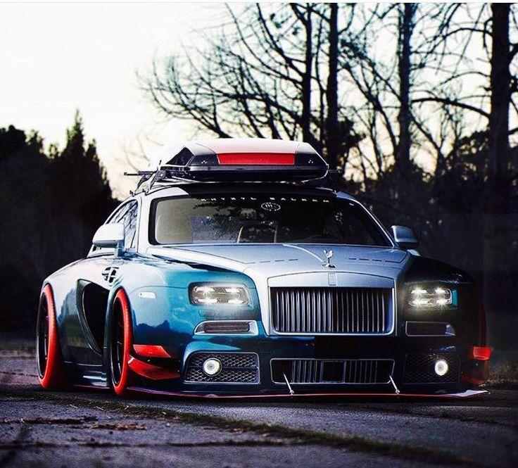 Customized insane Rolls Royce — WOOTmylife