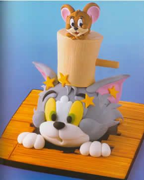 Best 25 Tom and jerry cake ideas on Pinterest Tom and jerry