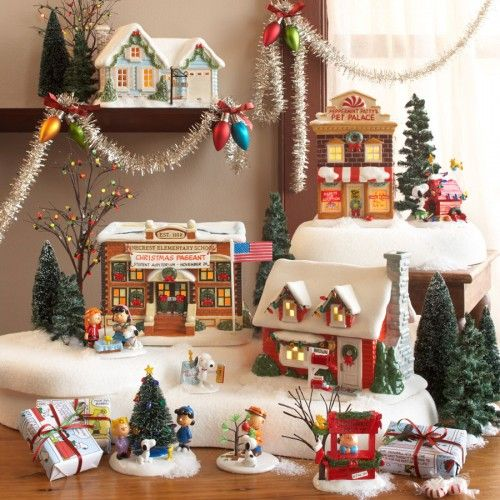 Department 56 - Peanuts - Village - Pinecrest Elementary School | Department 56 Villages, Free Shipping on Dept 56