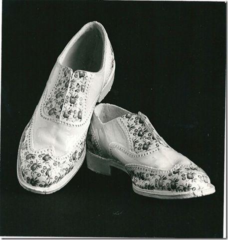 Peter van Zoetendaal keramiek schoenen